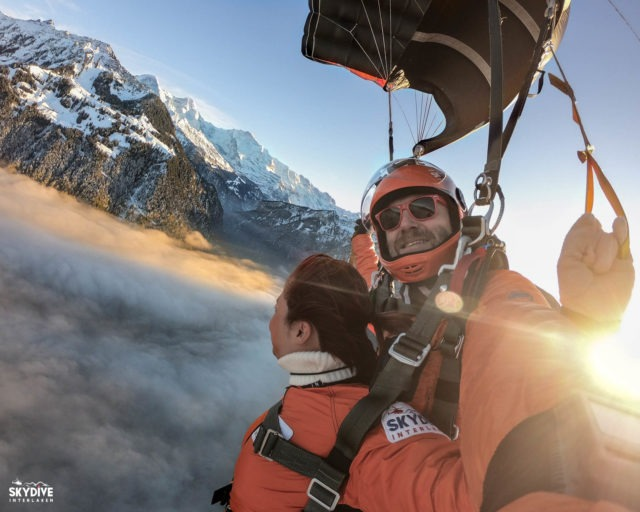skydive swiss alps bucket list