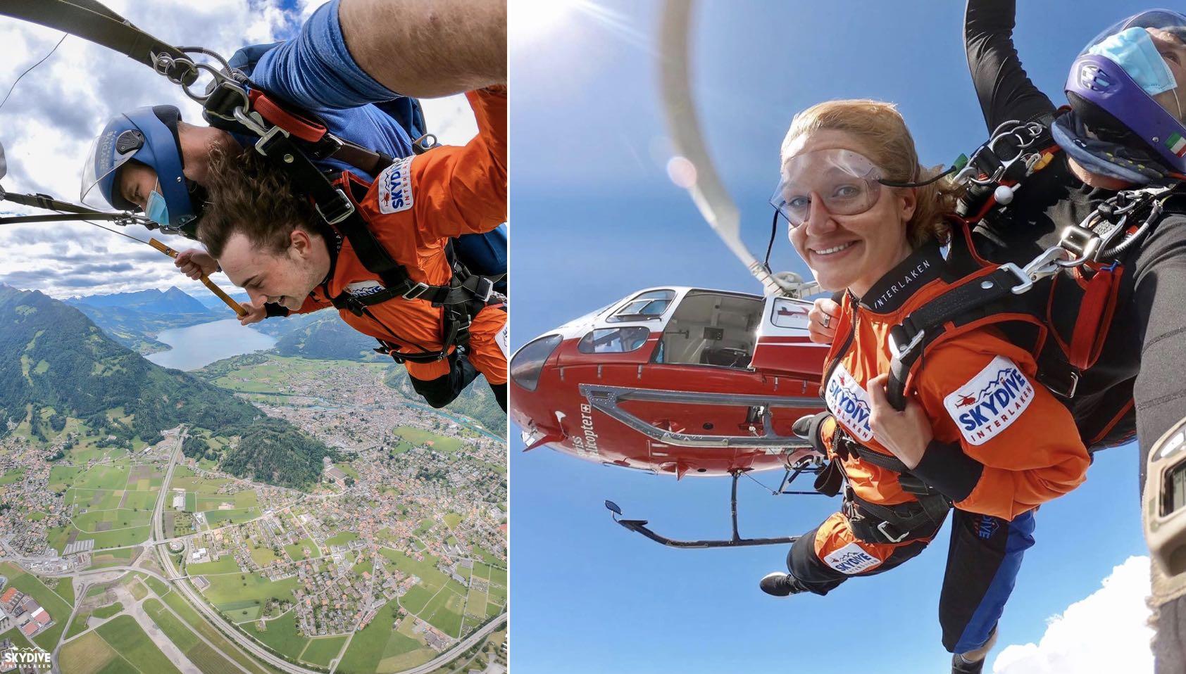 Skydiving Switzerland