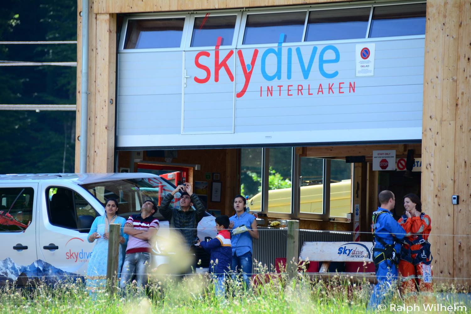 Group Bookings Skydive Interlaken