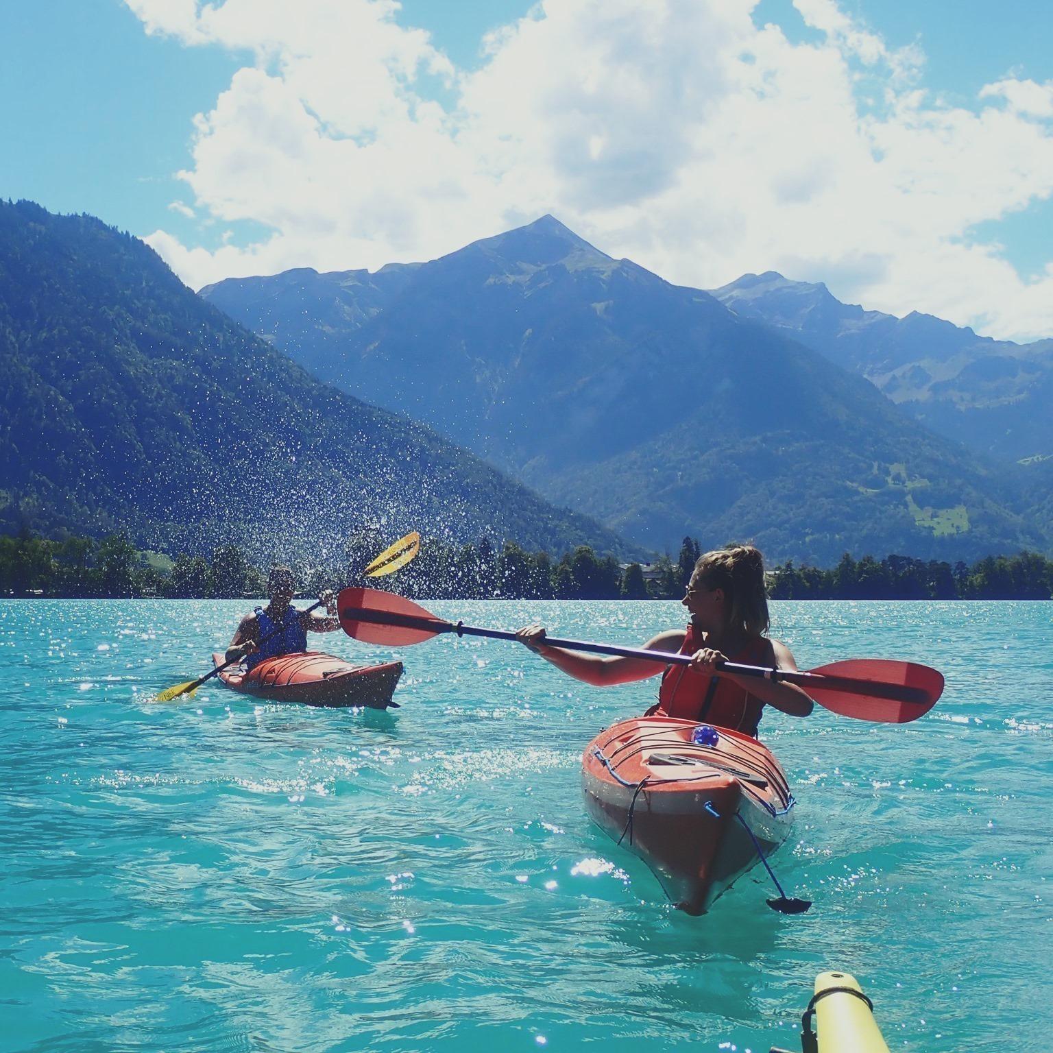 Things to do in Interlaken. Kayak Interlaken